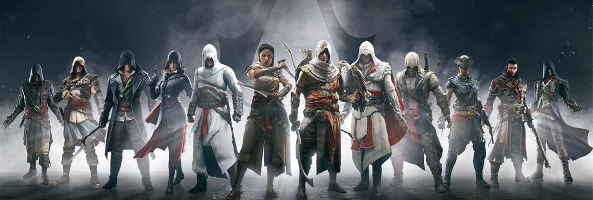 I collect these miniature Assassin's Creed figures and I finally got the entire set yesterday.  I decided to try and recreate one of my favorite AC posters. #AssassinsCreed #ACFinest<br>http://pic.twitter.com/LmhFZeYCHy