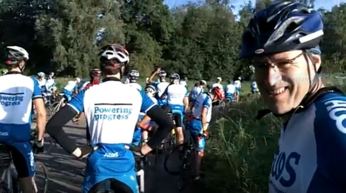 The AtosTour is getting closer! Next month, the @AtosNordics Team is going to cycle...