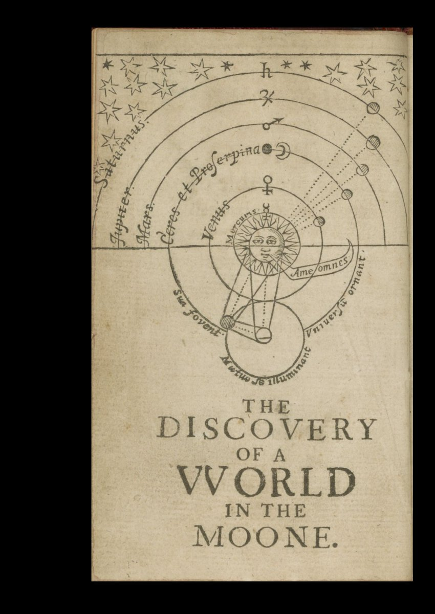 Discovery of a World in the Moone! John Wilkins proposes the