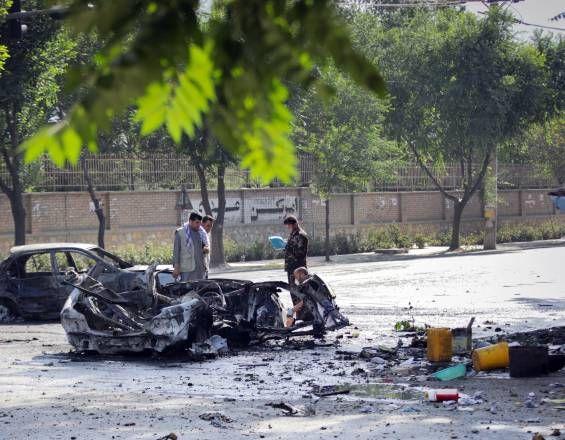 Nueve muertos y 33 heridos deja ataque suicida en Afganistán https://buff.ly/2Y1qLpJ