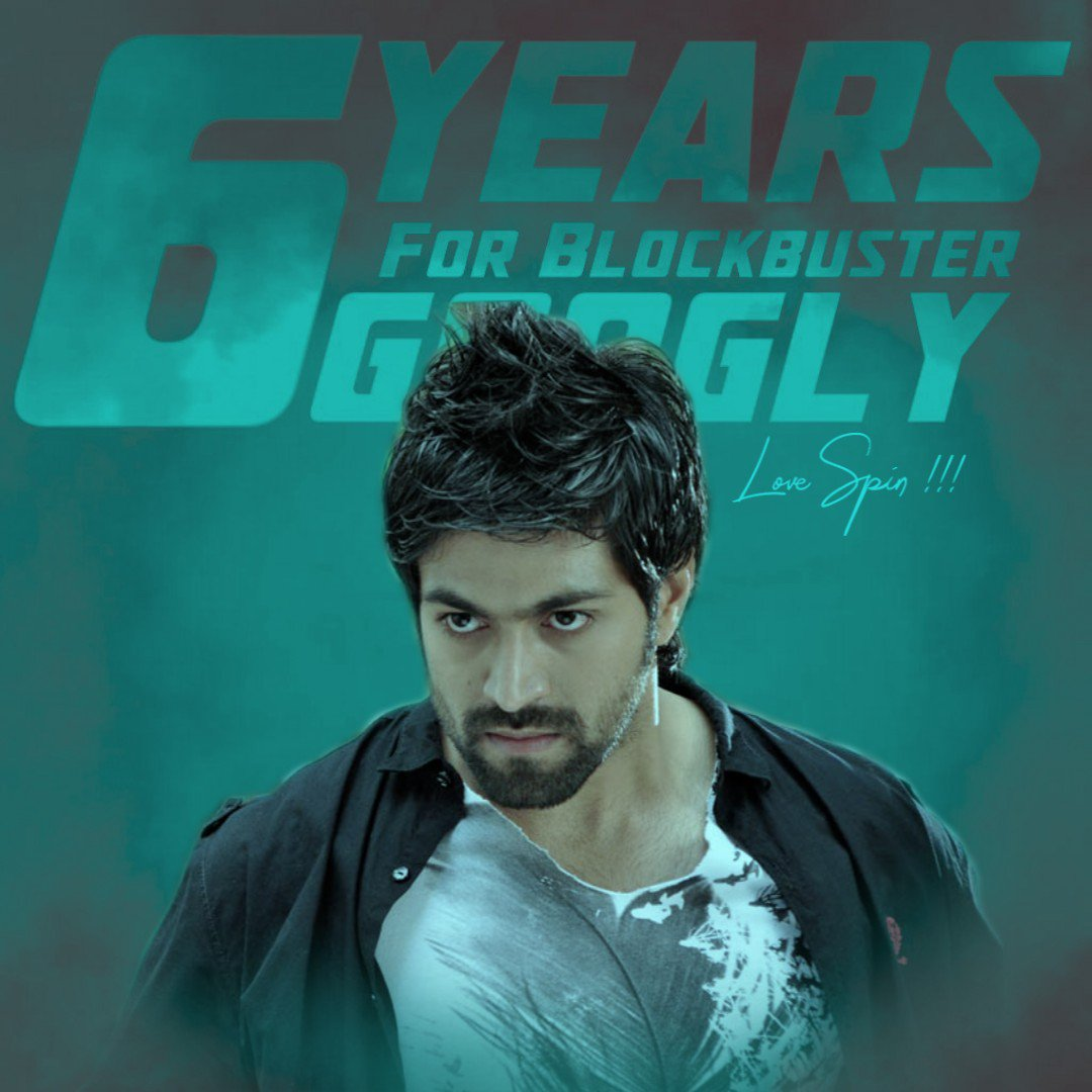 It's Been Six Years Since Our Sharath Turned Into The Richest Business Man😎 Celebrating Six Year Of Cult Classic Blockbuster Googly😘❤  Use This Tag In All Your Tweets👍 #6YearsForBBGoogly