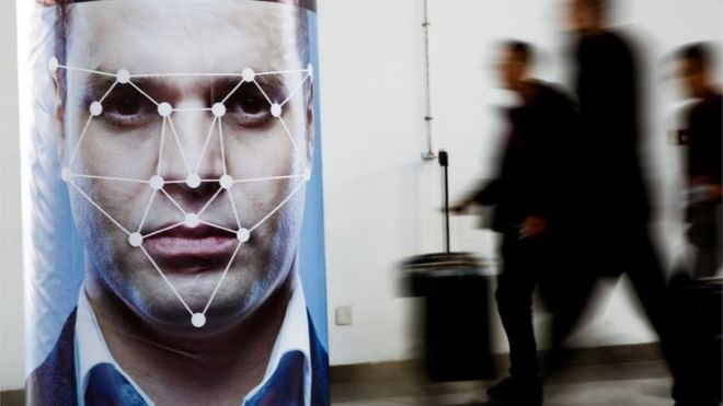 A group of influential MP's in the #UK have called for #FacialRecognition tech use by police to be suspended.  https://www. bbc.com/news/technolog y-49030595   … <br>http://pic.twitter.com/0fgFLRf9pz