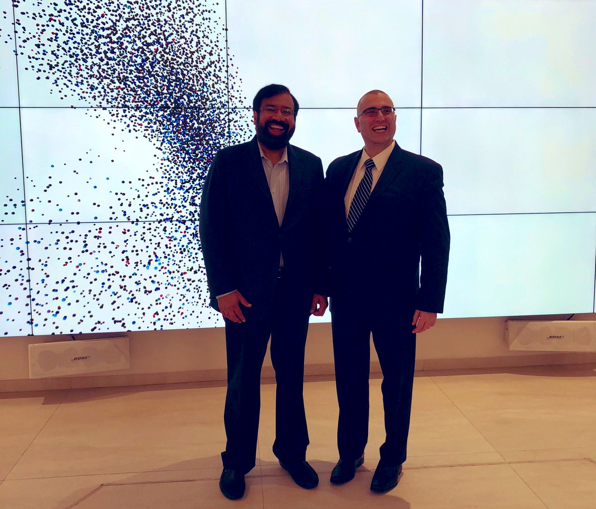 I have admired the shared wisdom, and thoughtful engagements of @hvgoenka for many years on @Twitter. Earlier this year, I met Mr. Goenka in person in Mumbai, India. I was truly overwhelmed by his generosity, kindhearted spirit and business intellect. I am thankful to know him.