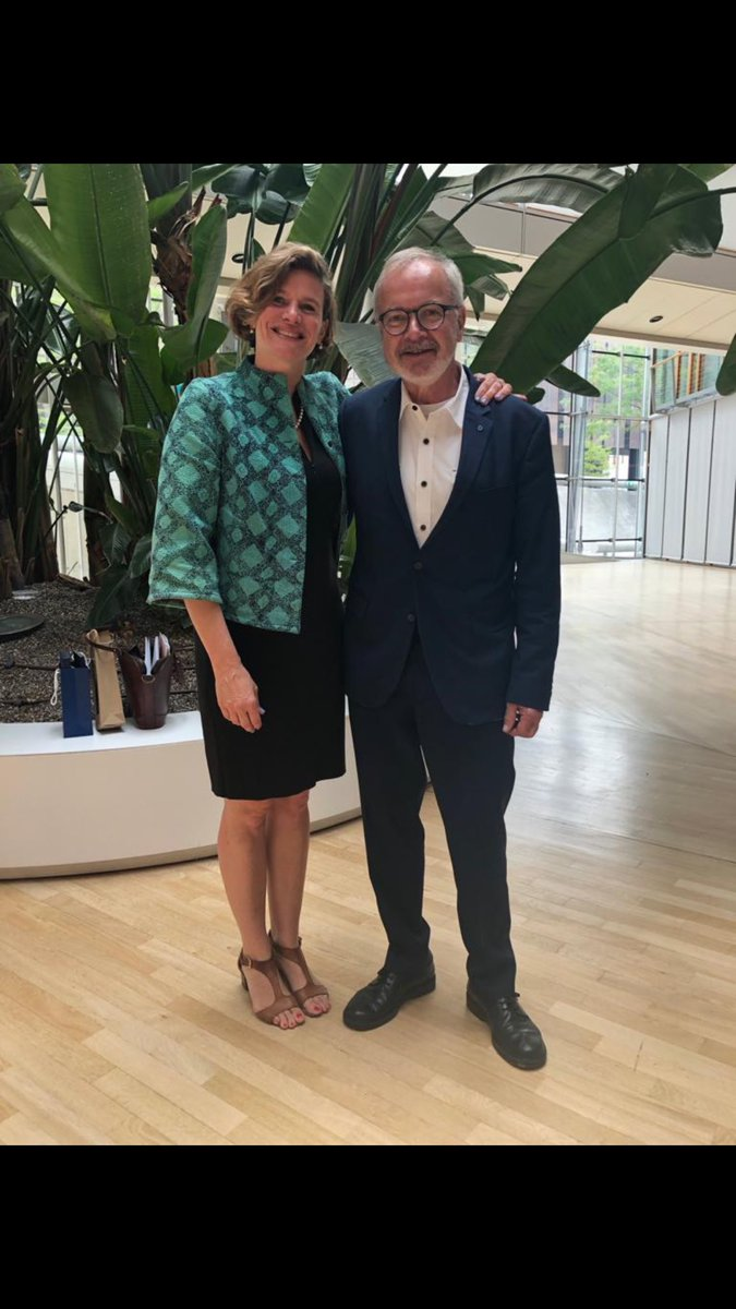 test Twitter Media - With the @EIB President Werner Hoyer after my keynote in Luxembourg on implications of mission-oriented innovation for public banking. https://t.co/khif3hKanD