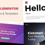Image for the Tweet beginning: 23 Best Elementor Themes and