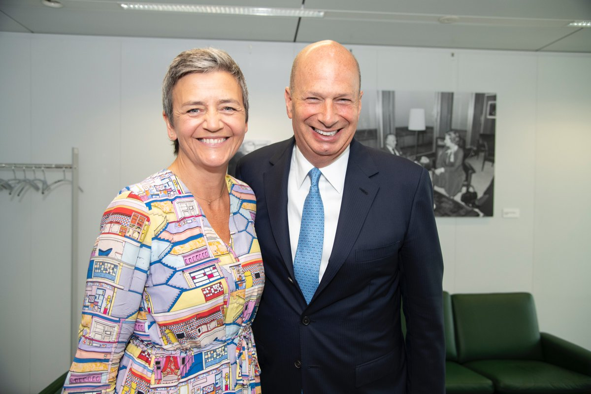 Pleasure to meet with @vestager to discuss how to move U.S.-EU economic relations forward. Let's seize this opportunity for the U.S. and EU to engage on all our mutual interests.