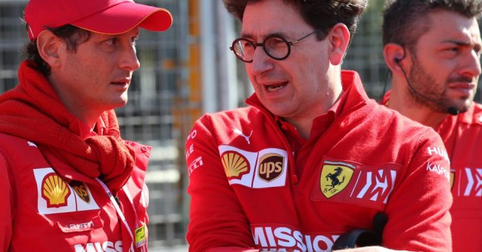Mattia Binotto reportedly set to stand down as Ferrari technical director in order to fully focus on team principal role.  https://www.planetf1.com/news/binotto-to-stand-down-as-ferrari-technical-director-report/… #F1
