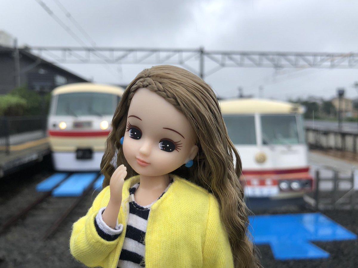 ♪ちちんぶいぶい ちちんぶいぶい  幻の新駅?!って話題の「西武ちちプラレール駅」へ行ってきたよ!初代レッドアローのフォトスポットにちょうどレッドアロークラシックが並んでくれたの♡ レールが青くなって電車がまるで巨大なプラレールみたい♪夏休み期間の9/1までだよ! #プラレール60周年 https://t.co/8X9BlFJJdh