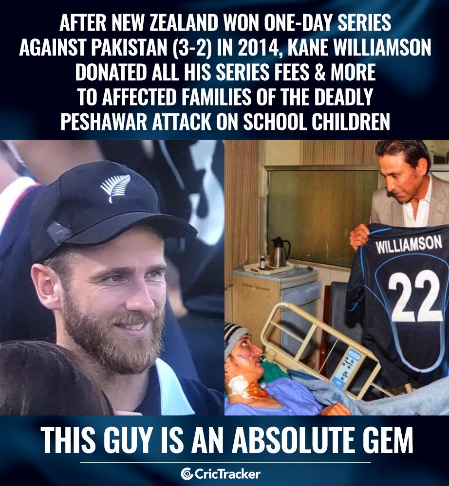 You just cannot hate Kane Williamson. #Cricket