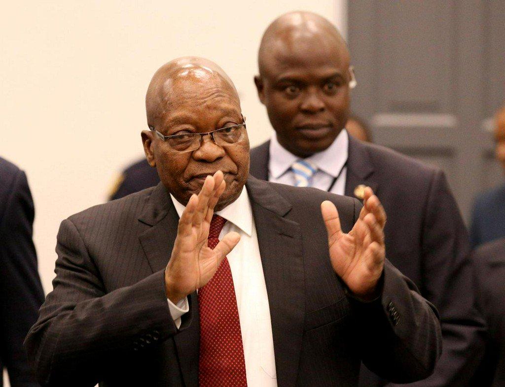 South Africa's Zuma due back at corruption inquiry after adjournment https://www.reuters.com/article/us-safrica-politics-idUSKCN1UE0IN?utm_campaign=trueAnthem%3A+Trending+Content&utm_content=5d319014eb25fa0001be6a62&utm_medium=trueAnthem&utm_source=twitter…