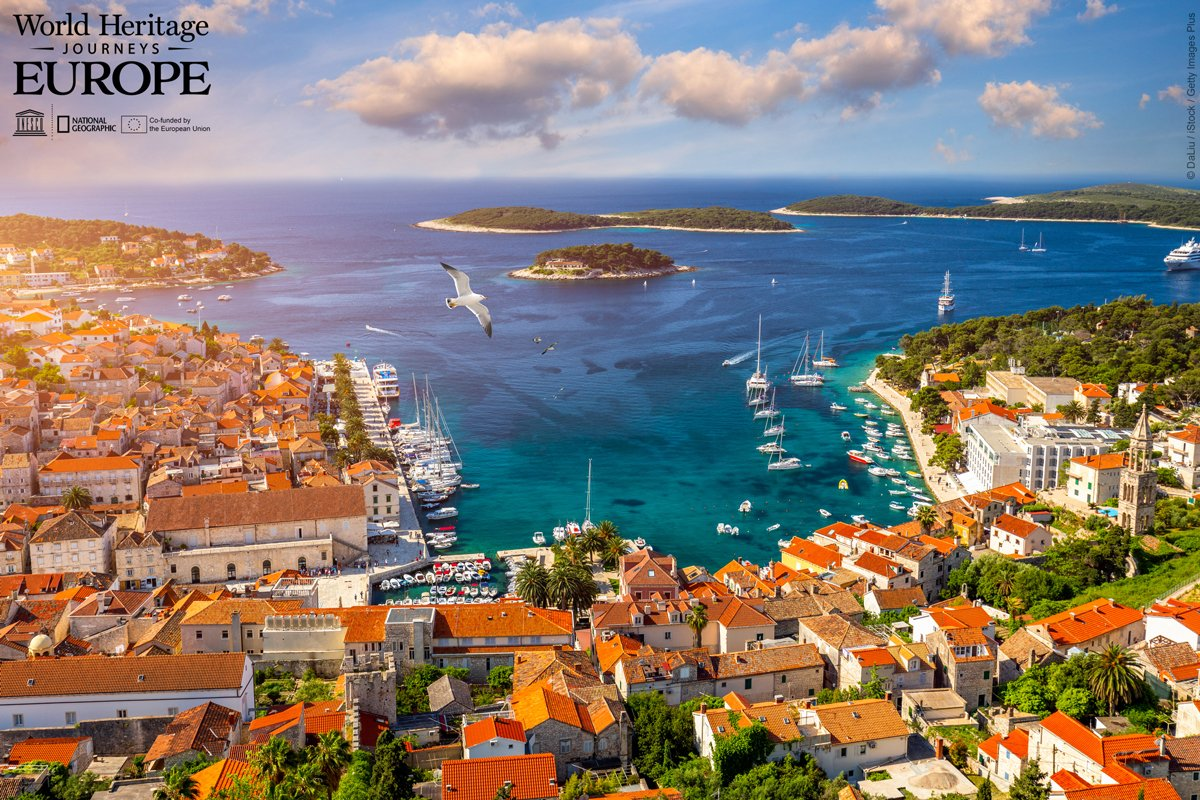 #DYK that Hvar Island in Croatia has a #WorldHeritage site?  Discover 34 hidden gems of humanity's cultural heritage with the platform http://visitEUworldheritage.com by @UNESCO & @NatGeo   Travel deeper, travel differently.