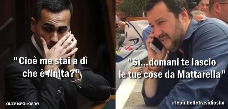Ieri #Salvini aveva deciso di chiudere #crisidigoverno