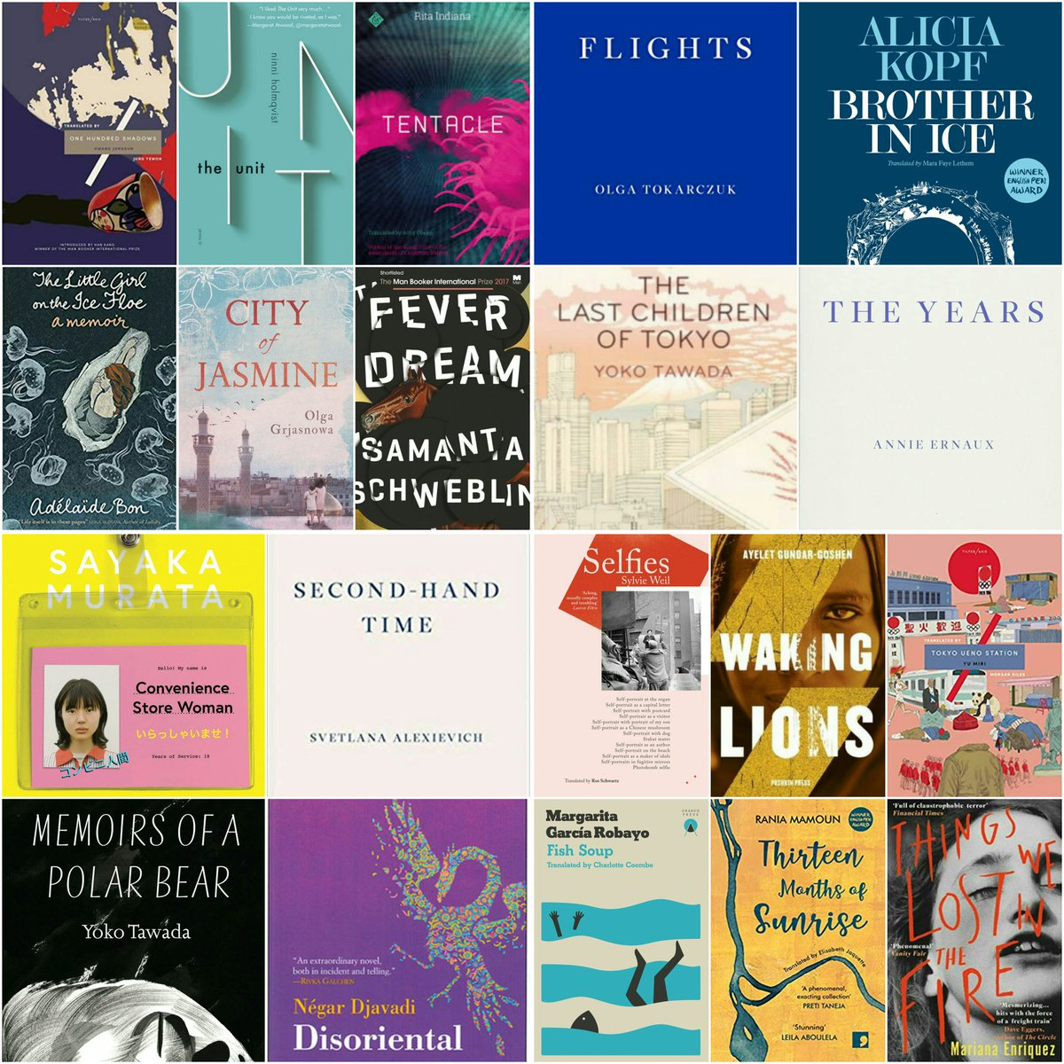 Im off on holiday for 2 weeks now, so heres a pre-#WITMonth blog post with summer reading recommendations that celebrate #womenintranslation: 20 brilliant books in 10 categories - something for everyone to enjoy! Catch up with you all in August 😎 blogs.exeter.ac.uk/translatingwom…