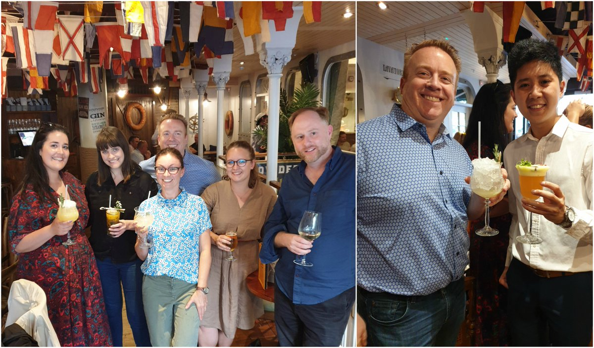 Wonderful evening last night with friends of @EventprofsLON - summer cocktails sponsored by @voxgig  Thanks for joining us and we look forward to more fun gatherings of talks & networking from September - join our friendly community  https:// bit.ly/2RmXyau       #eventprofs <br>http://pic.twitter.com/y0oLp5fIss