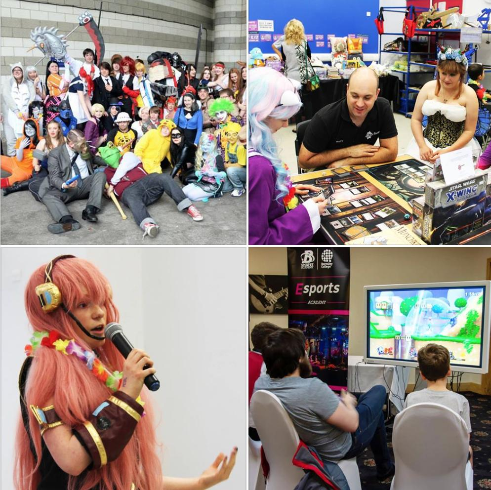 @ManAustria On 20th July at #anime #Yorkshire at @barnsleysport for a Variety of Entertainment, Anime & Video Game Merchandise Stalls, Artists, Crafts People, Workshops & Talks, Video Gaming Area, Contests & More! Info - (link: yccevents.co.uk)