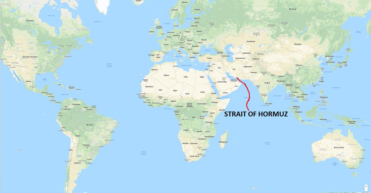 If it is true that the US shot down an Iranian drone in the Strait of Hormuz... Look at a map and see how close the Strait is to Iran🇮🇷 vs how close the Strait of Hormuz is to the United States🇺🇸... And the US paints Iran as the aggressor?🙃
