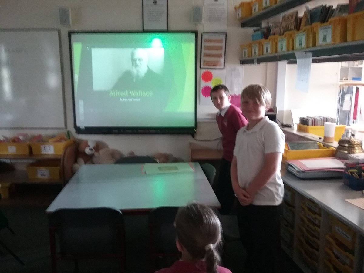 Outstanding presentations from our Year 6 children linked to their science unit Evolution and Inheritance. Each group selected either Charles Darwin, Mary Anning or Alfred Wallace to research and present on #Science