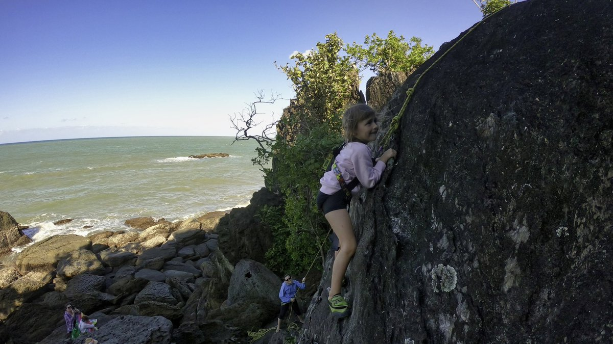 Some family fun climbing last weekend. So good to see the sunshine for a change.
