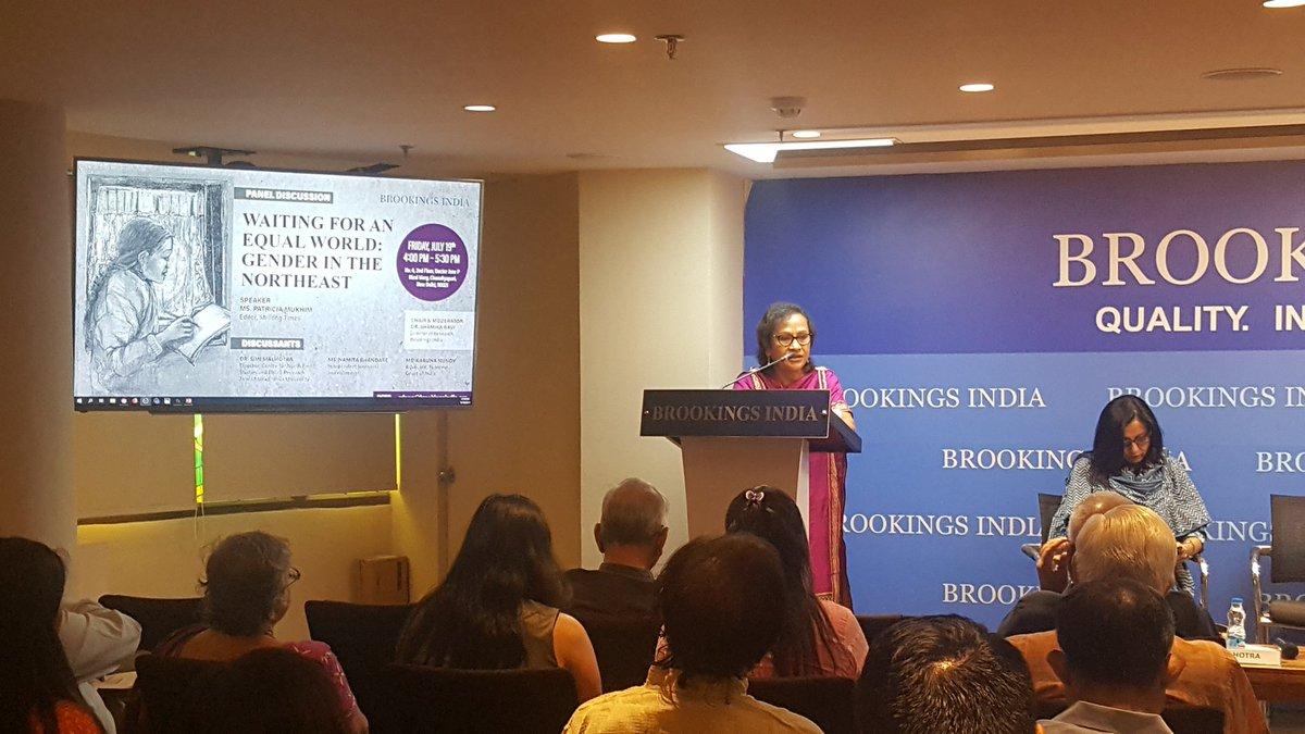 meipat at @BrookingsIndia: