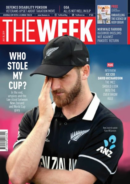 Who stole my cup? In the end, umpires and the law stood between #NZ and #WorldCup glory! Read more here ---> http://mgztr.co/rou1t     #EngvsNZ #CWC19 #CWC2019 #KaneWilliamson #Cricket @TheWeekLive