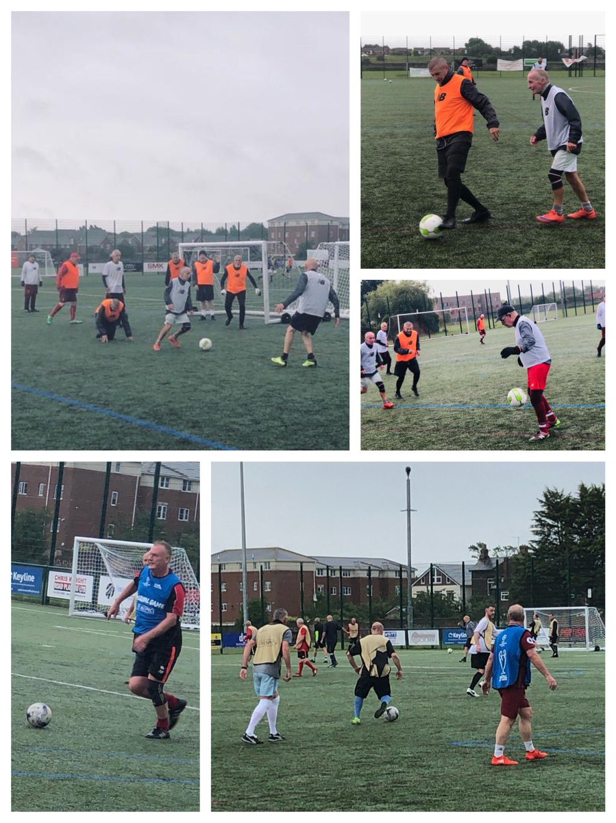 Teaming down rain...no problem! #WalkingFootball never stops. These guys enjoy the weekly sessions in @anfield_sports far too much #LFCFamily #ThisMeansMore #YNWA #CommunityEngagement #LFC<br>http://pic.twitter.com/1eF6Gm3Tnp