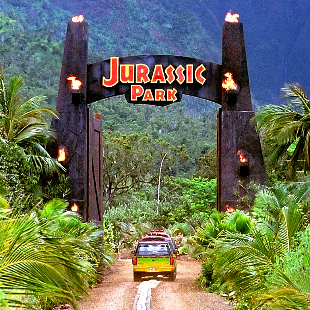 This is an podcast 93 episodes in the making. Our episode on #JurassicPark is out NOW!! #horror #film #jeffgoldblum #adventure #spielberg #dinosaurs