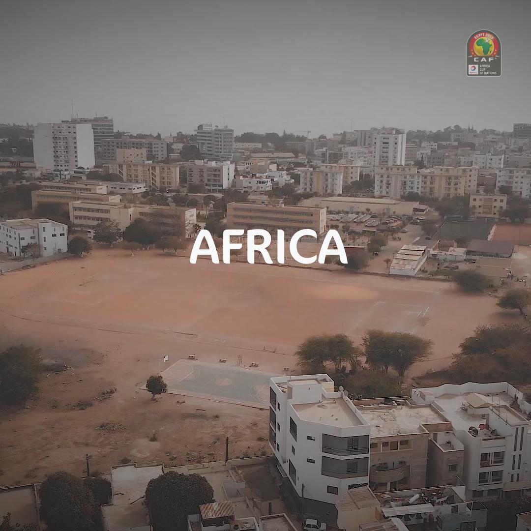We gather to #CelebrateAfrica from Cairo 🌍🏆  Tonight, 21:00 local time. All eyes on us.   #TotalAFCON2019