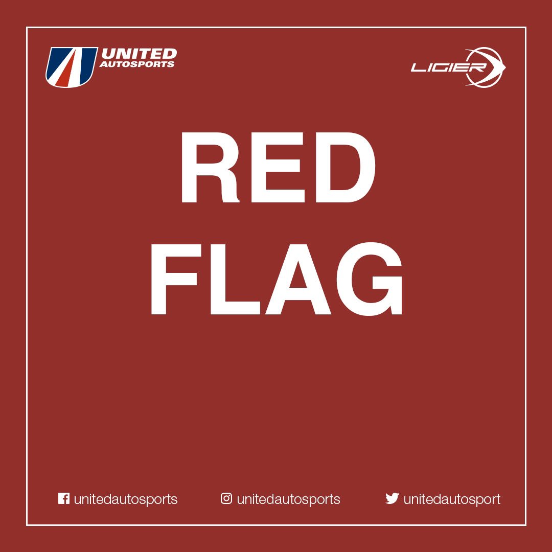 Red flag in the @LeMansCup session so all three of our cars box #BeUnited