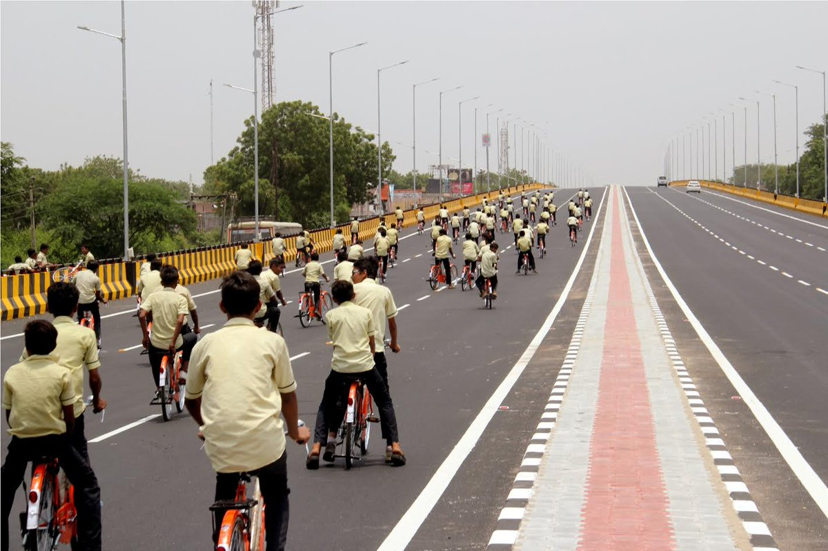 Ahmedabad – Mahesana highway gets a new Rs. 50 crore over bridge at Nandasan