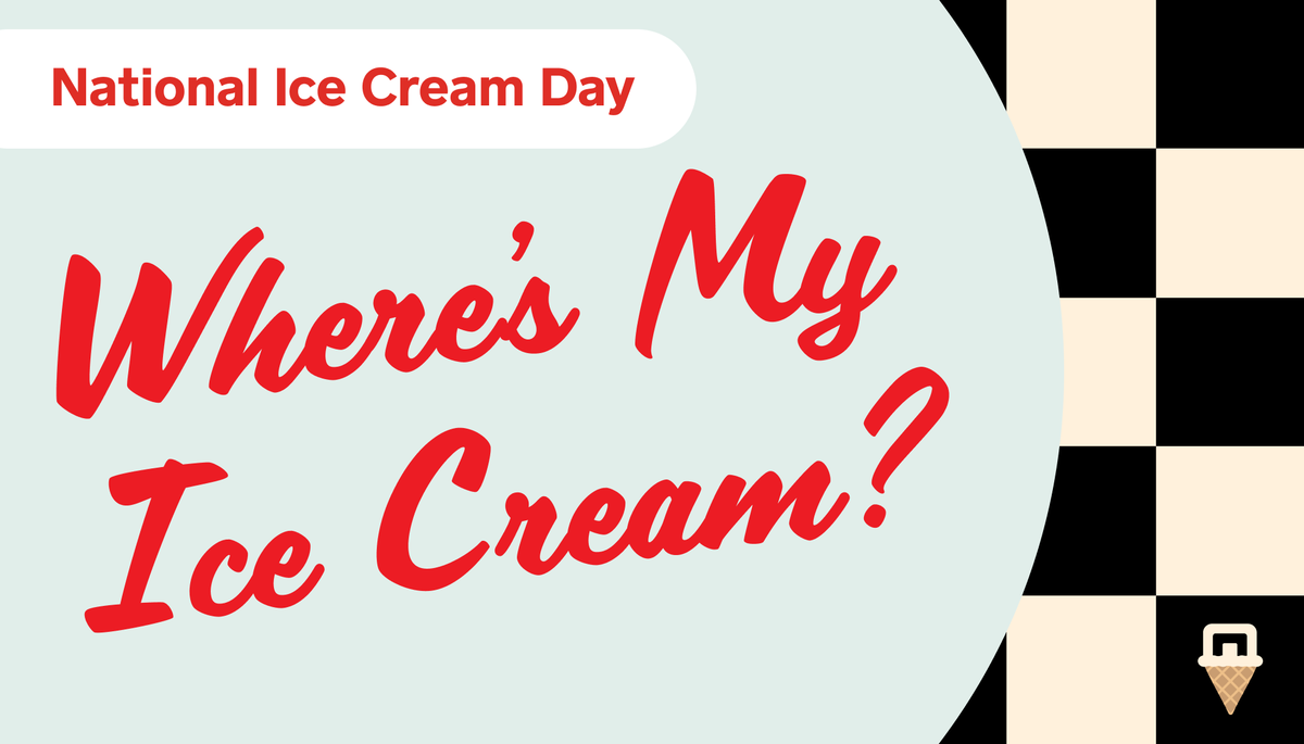 📍Reply with your location (city, state or zip code) and we'll tell you where to get ice cream this weekend.  Support local businesses. Eat ice cream. Everybody wins. #NationalIceCreamDay🍦