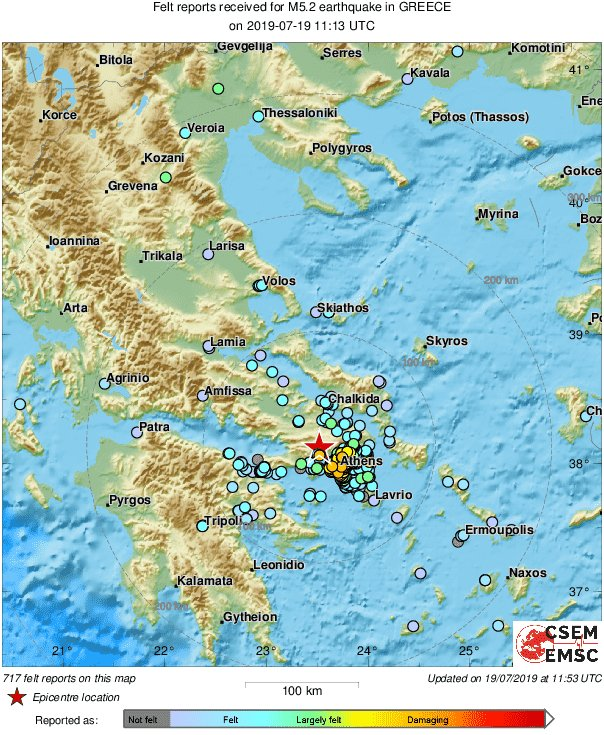Strong Quake Rocks Greece's Athens: Here's Everything You Need To Know