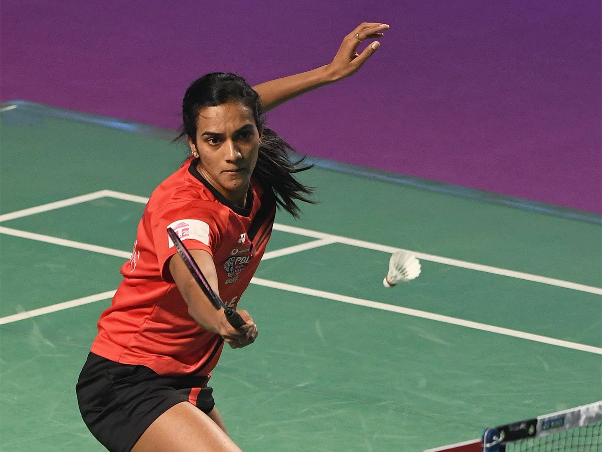 #indonesiaopen2019 #IndonesiaOpen @Pvsindhu1 takes the first game 21-14 against Japan's @nozomi_o11 in women's singles quarter-final
