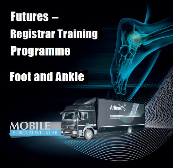 Fantastic use of the new UK #MobileLab in Truro today, at @RCHTWeCare for Registrars to undertake a full day of Foot & Ankle surgery training with Mr Richard Walter.#DiscoverArthrex #ArthrexFutures