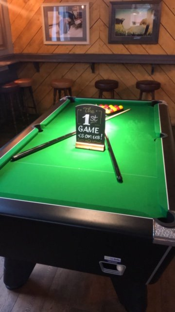 Fancy a game of POOL come down the first ones on US...!!