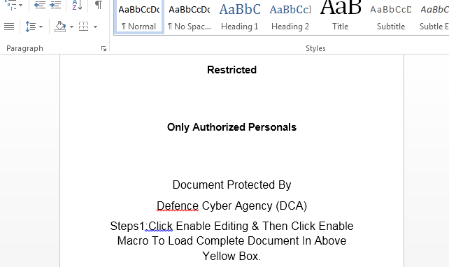 Document Protected by Defence Cyber Agency (DCA) 🤔 #warzone