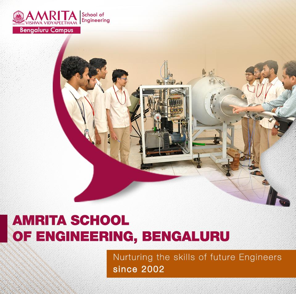 We are proud of our legacy and the success stories of our students stands as a testimony to that!  Know more about us: https://bit.ly/2PxwPSQ   #ASE #Bangalore #Bengaluru #EngineeringCollege #Engineering #AmritaSchoolOfEngineering