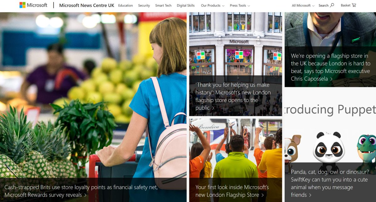 Did you know you can get the latest #Microsoft news straight to your inbox? Just enter your email address at our News Centre: http://msft.it/6012TzC60