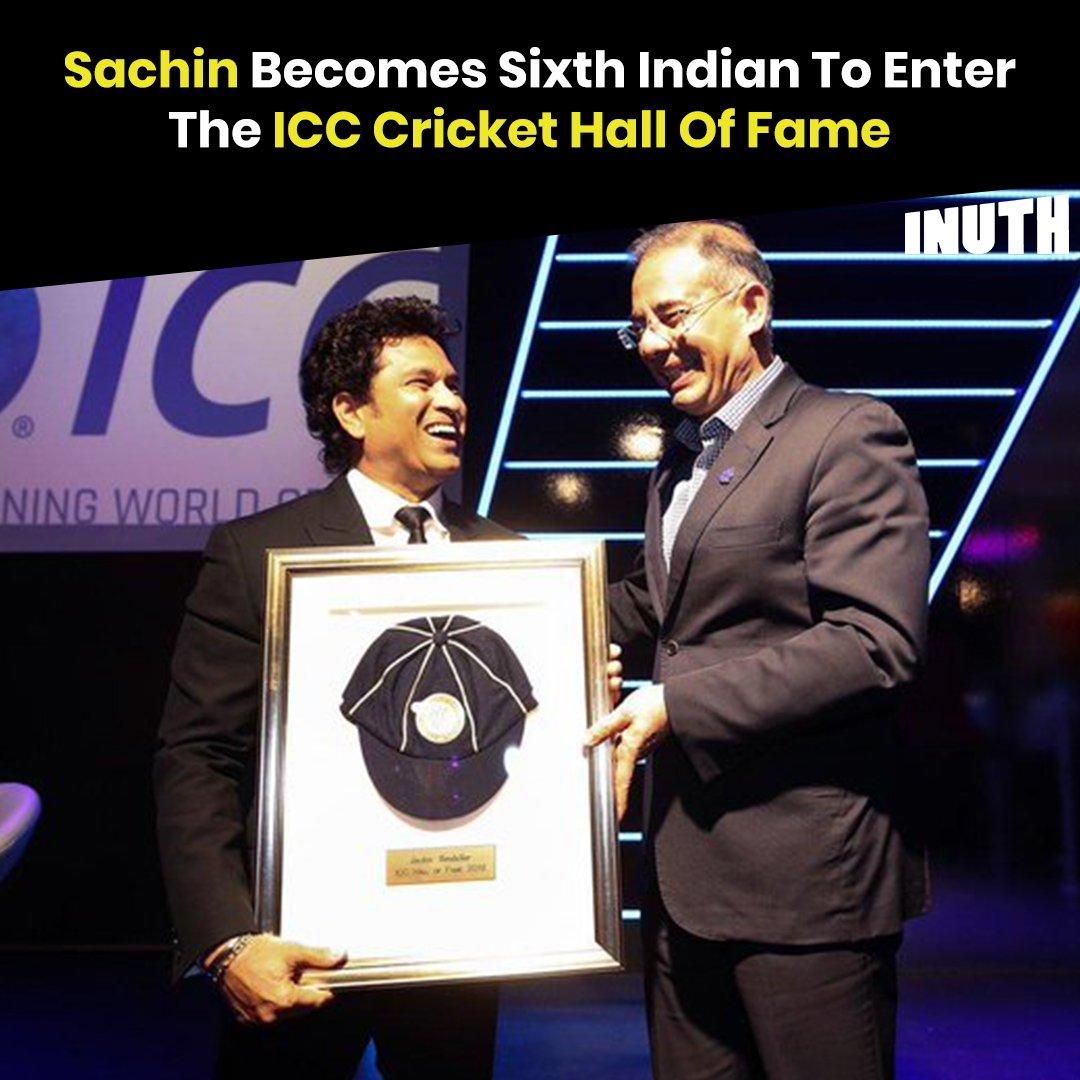 Once a legend, always a legend 🙌#SachinTendulkar #ICCHallOfFame   @sachin_rt