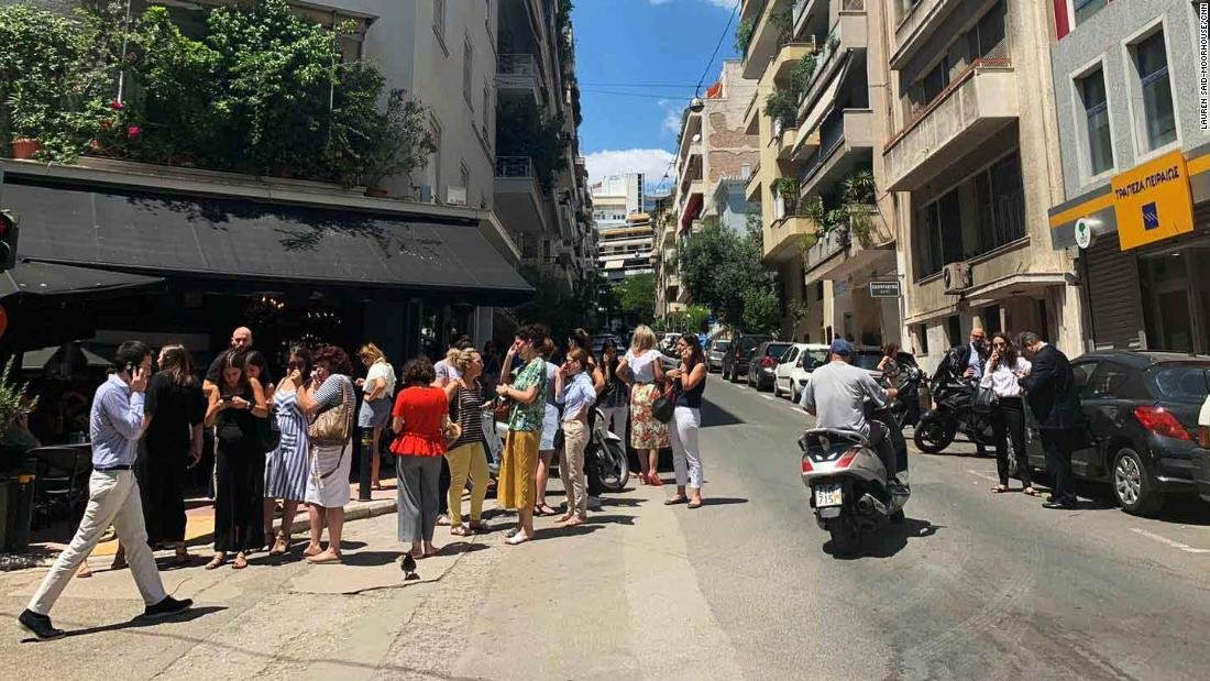 At least seven aftershocks recorded after a 5.1 magnitude earthquake strikes the Greek capital of Athens https://cnn.it/2GjUe8u