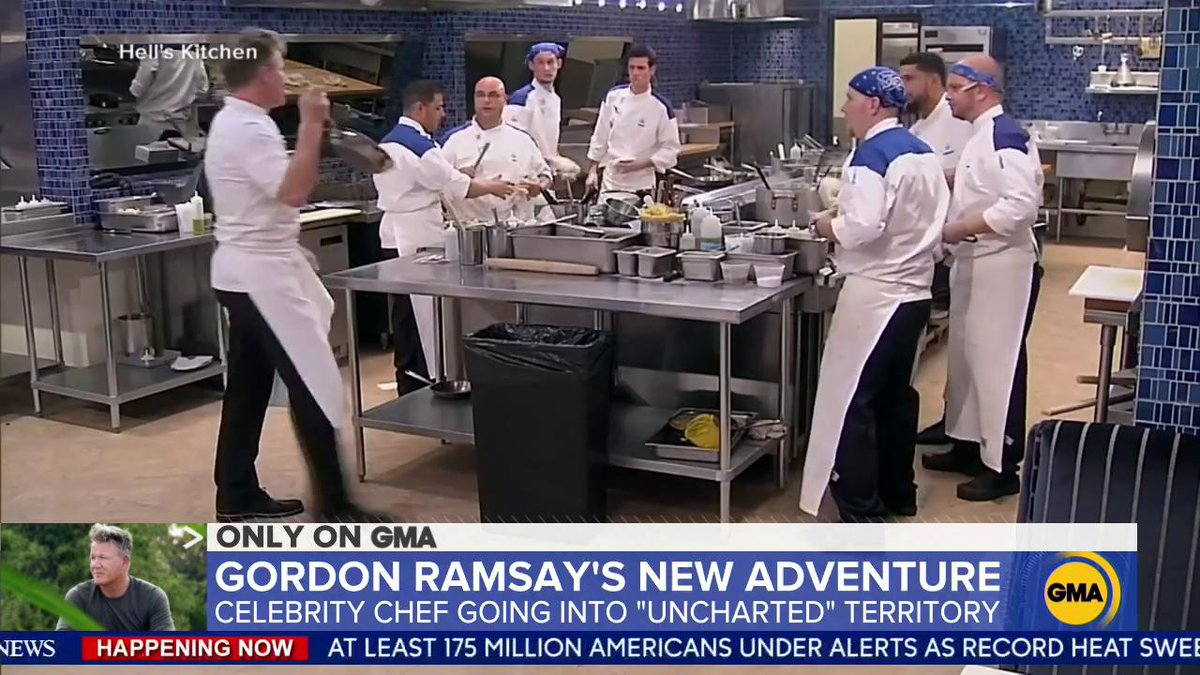 .@TJHolmes stepped into @GordonRamsays kitchen and talked to him about his new Uncharted adventure. gma.abc/2XPxic4