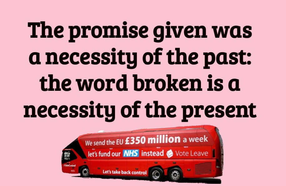 And the lies on the bus go round and round ...