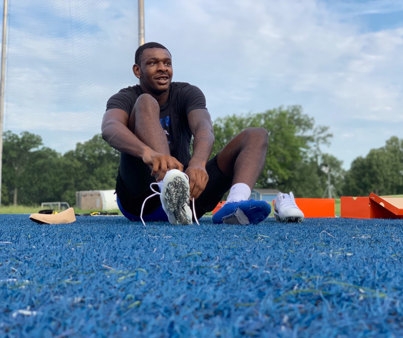 Memphis Tigers NCAA Basketball: Spikes On   The Tigers are hitting the gridiron for this morning's Friday workout.   ...