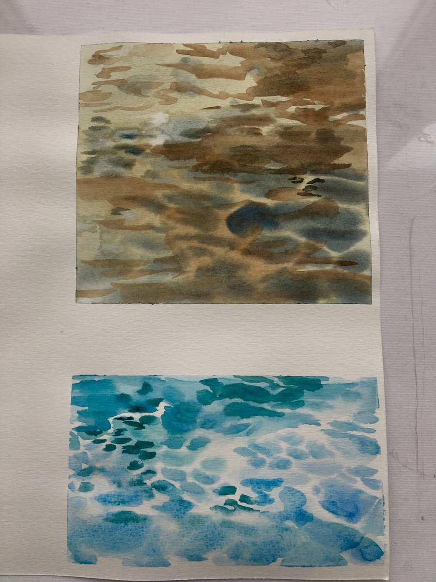 water practice  #watercolorpainting #Watercolour<br>http://pic.twitter.com/3w0FqW2zTs