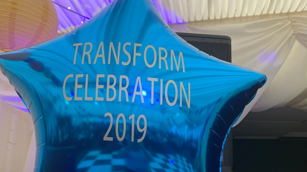 Andi Brown is honoured to attend the @TransformTrust awards ceremony this afternoon to present an achievement award #education #EnjoyAchieveExcel