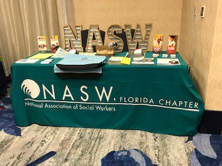 Come visit NASW-FL at the #FAPT2019 Conference.
