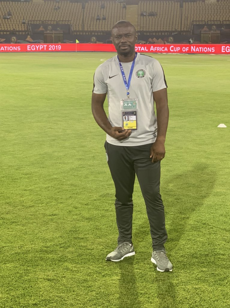 Hi Everyone,please while we celebrate our team at the AFCON,please let's take a time and say ,Thank You to our Physio. I can't imagine if he wasn't next to Samuel Kalu after he collapsed . Mr Nnaemeka Anozie is a life saver 🙏🙏