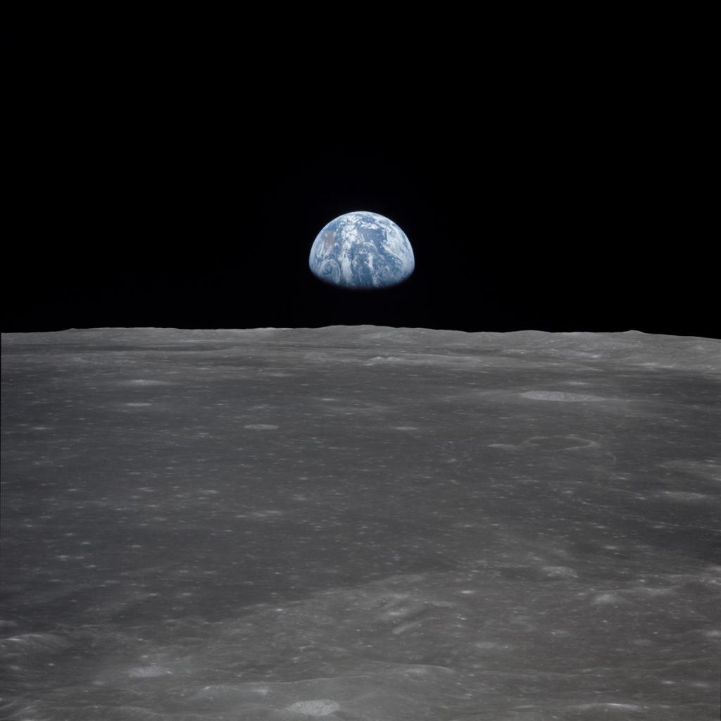 One of the most breathtaking images taken during #Apollo11 was this one of Earth from lunar orbit. Australia is visible on the left. go.nasa.gov/2M4oisx #Apollo50th