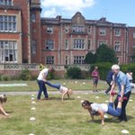 "Our Bracknell team enjoyed an ""Epic Fun"" summer BBQ with races and garden games."