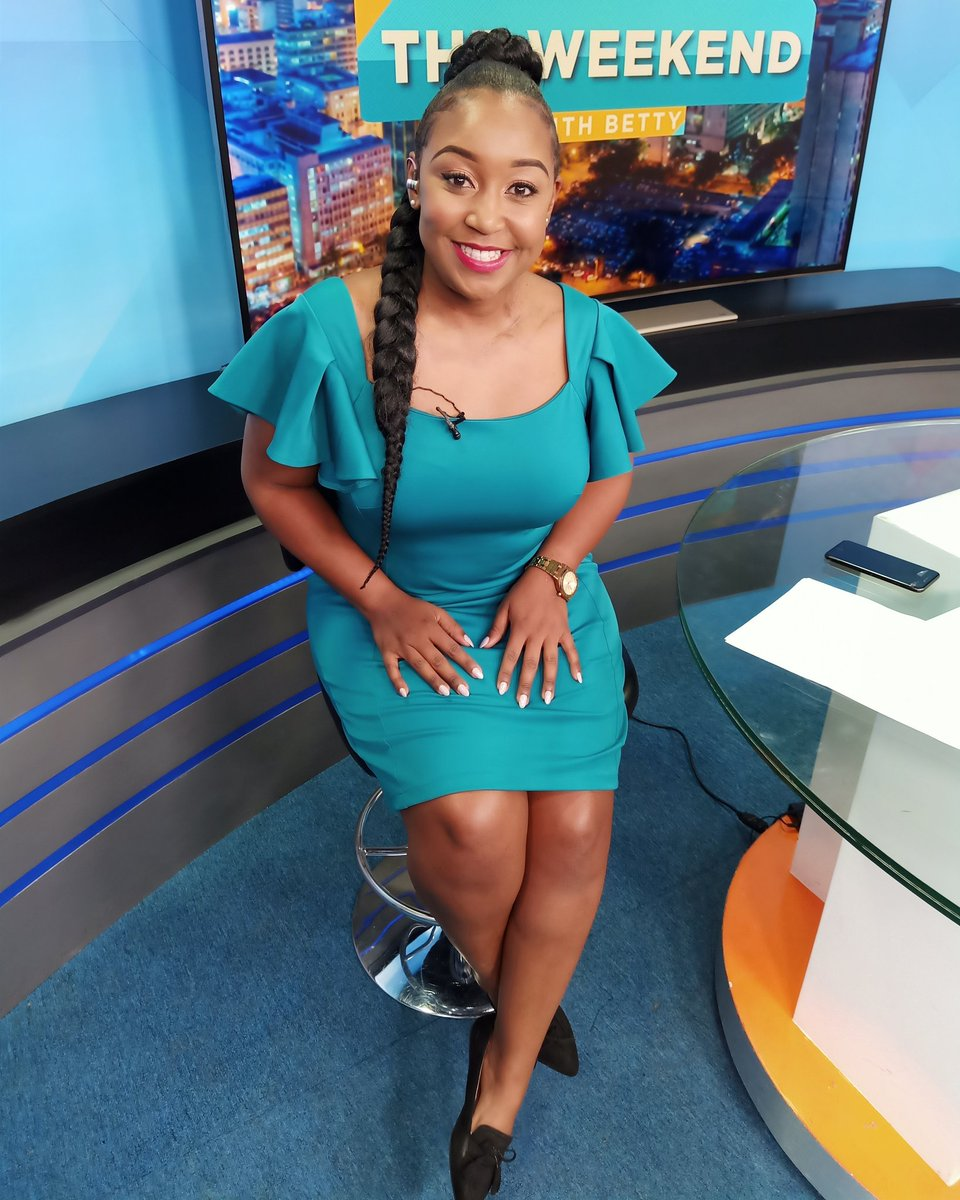 Ready to go! #WeekendWithBetty  where you watching from..🇰🇪