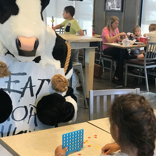 How about a game of Cow-nect  4? #cfaalmeda #homegrown ———————————————————— #cfa #chickfila #Summer #Fun #games #connectfour #kidfriendly #qualitytime #familyfriendly #cfacow #chickfilacows #cfacows https://ift.tt/2Y1j5UG